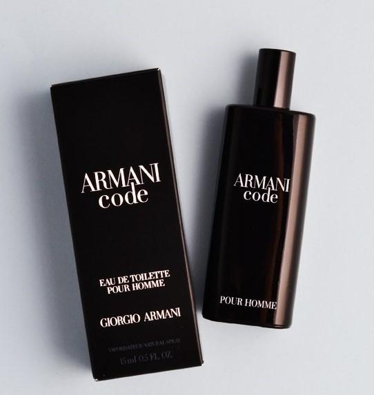 Image of Giorgio Armani Armani Code 15 ml Eau de Toilette Sp for Men