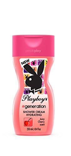 Image of Playboy Shower Crema Doccia Idratante 250 ml