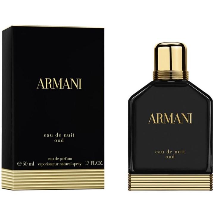 Image of Armani Eau De Nuit Oud Eau de Parfum Spray - 50 ml