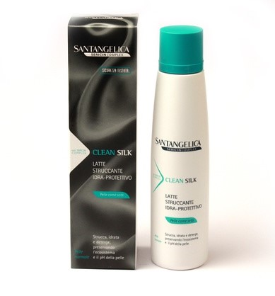 Image of Santangelica Clean Silk Latte Struccante Idra-Protettivo 200 ml Viso Donna