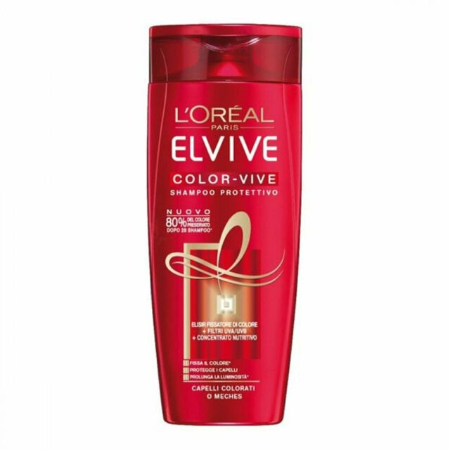 Image of L'Oreal Elvive Shampoo Color Vive 400 ml