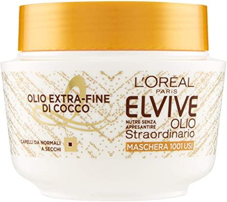 Image of L'Oreal Elvive Olio Straordinario Maschera Cocco 300 ml
