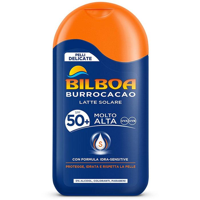 Image of Bilboa Burrocacao Latte Solare SPF50+ 200 ml
