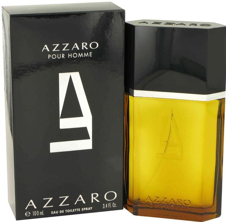 Image of Azzaro Pour Homme Men's Eau de Toilette Spray, 100 ml