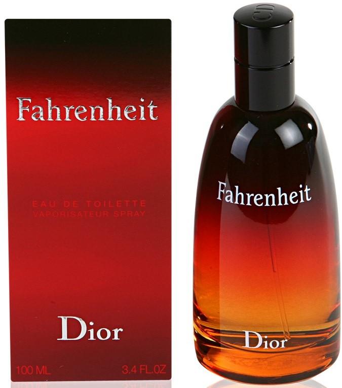 Image of Men's Fahrenheit by Christian Dior Eau de Toilette Spray - 100 ml