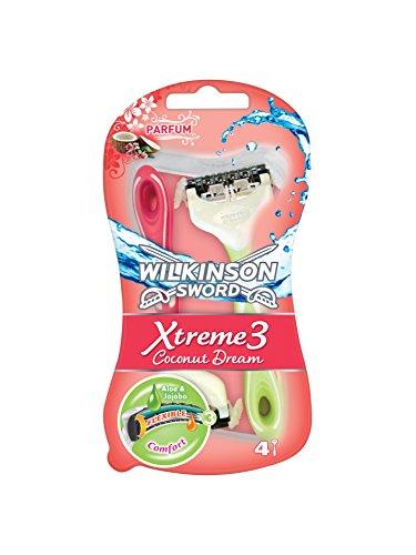 Image of Wilkinson Sword Xtreme 3 Beauty Coconut Dream 4 pezzi
