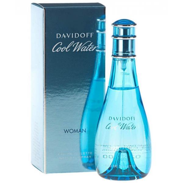Image of Davidoff Women's Cool Water by Zino Eau de Toilette Spray - 100 ml