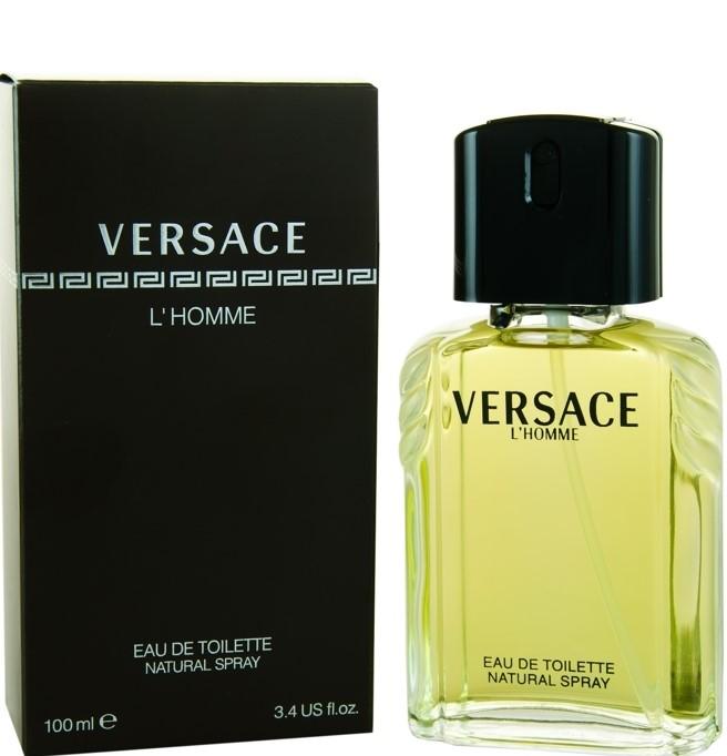 Image of Men's Versace L'Homme by Versace Eau de Toilette Spray - 100 ml