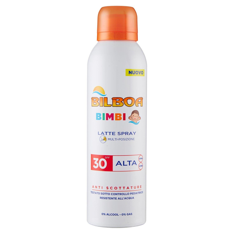 Image of Bilboa Bimbi Latte Solare Spray SPF30 Protezione Alta - 150 ml