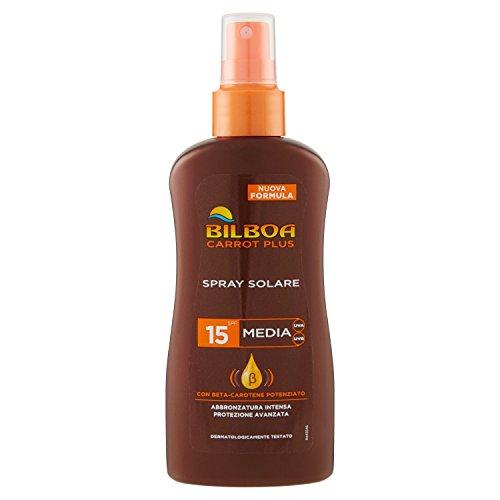 Image of Bilboa Carrot Plus Spray No Gas SPF15