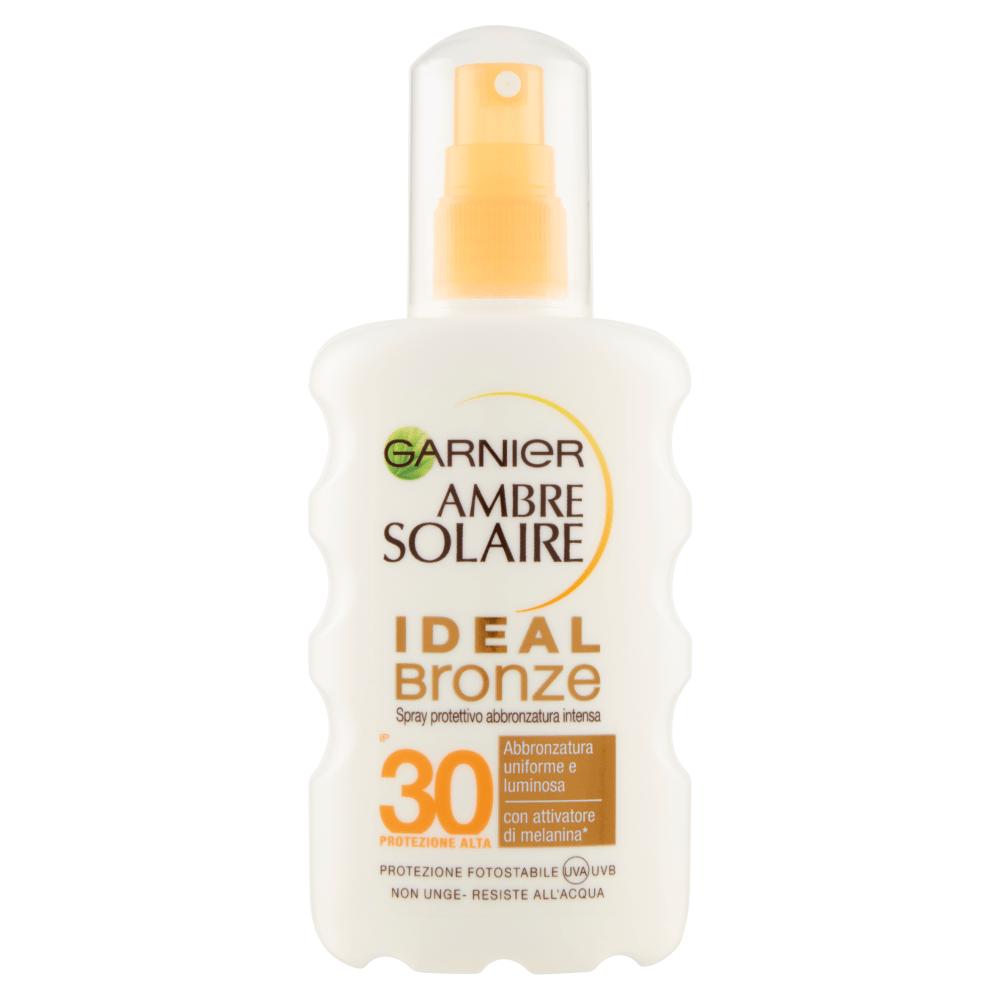 Image of Garnier Ambre Solaire Spray Ideal Bronze SPF30