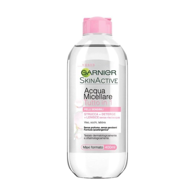 Image of Garnier Skin Active Soluzione Micellare All-in-One Pelli Secche e Sensibili 400 ml