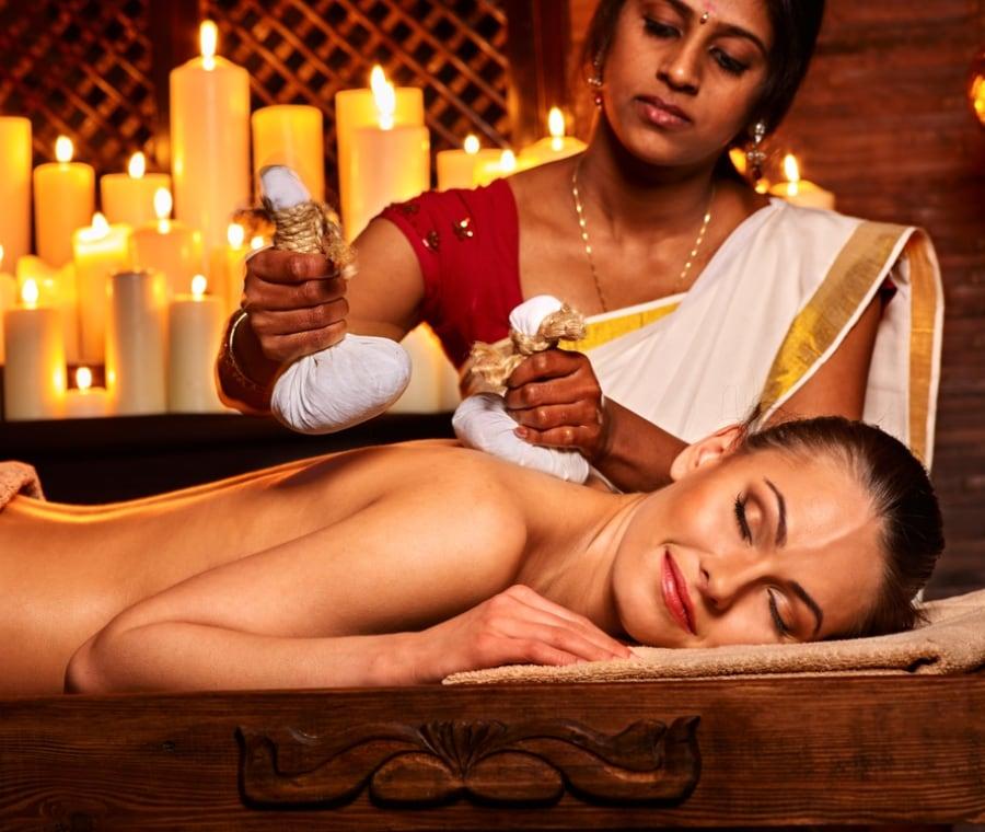 Massaggio Ayurvedico - Afrodite Profumeria