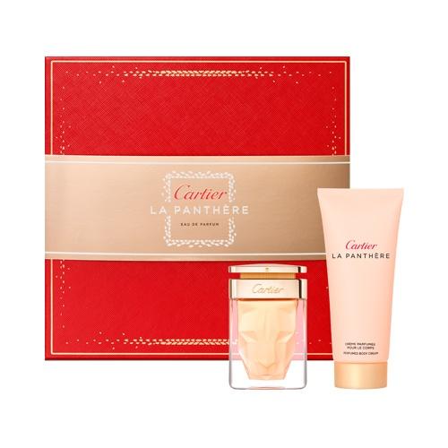 Image of Gift Set Donna Cartier LaPanthere Eau de Parfum 50ml Shower Gel 100ml