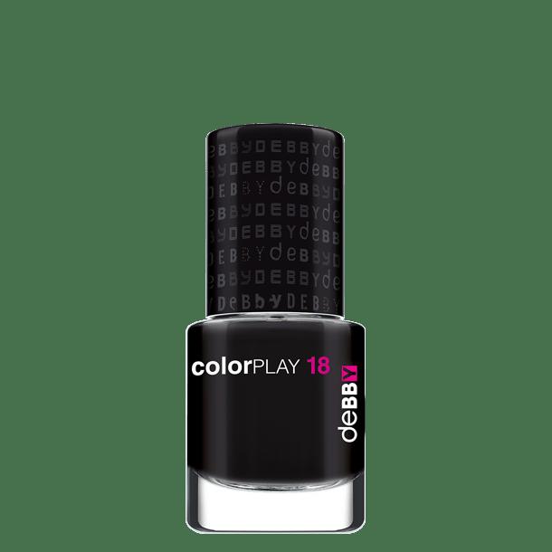 Image of Debby colorPLAY smalto - disponibile in 12 colori - 18 black