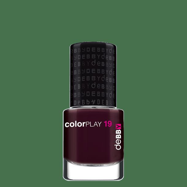 Image of Debby colorPLAY smalto - disponibile in 12 colori - 19 aubergine