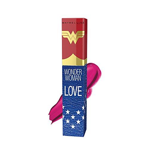 Image of Maybelline Wonder Woman Vivid Matte Liquid Edizione Limitata - Disponibile in 5 colori - 40 love