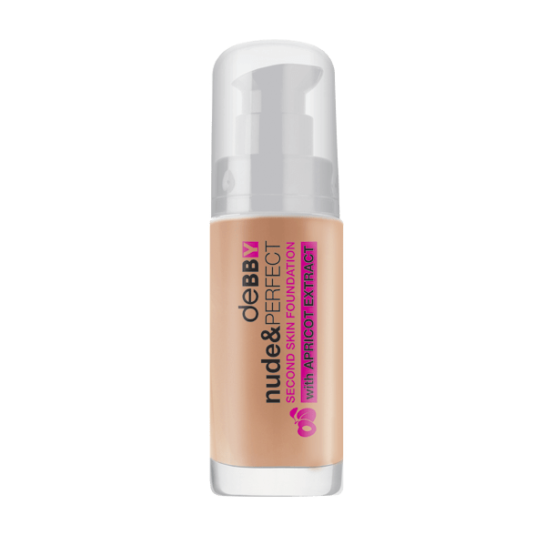Debby Nude & Perfect Second Skin Foundation - 05 caramel