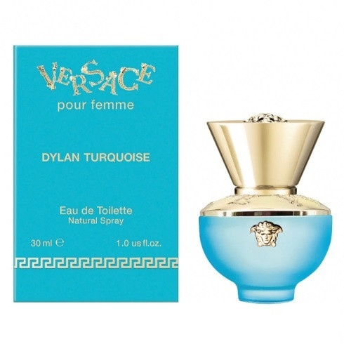 Image of Versace Pour Femme Dylan Turquoise - Eau de Toilette 50 ml - 30 ml