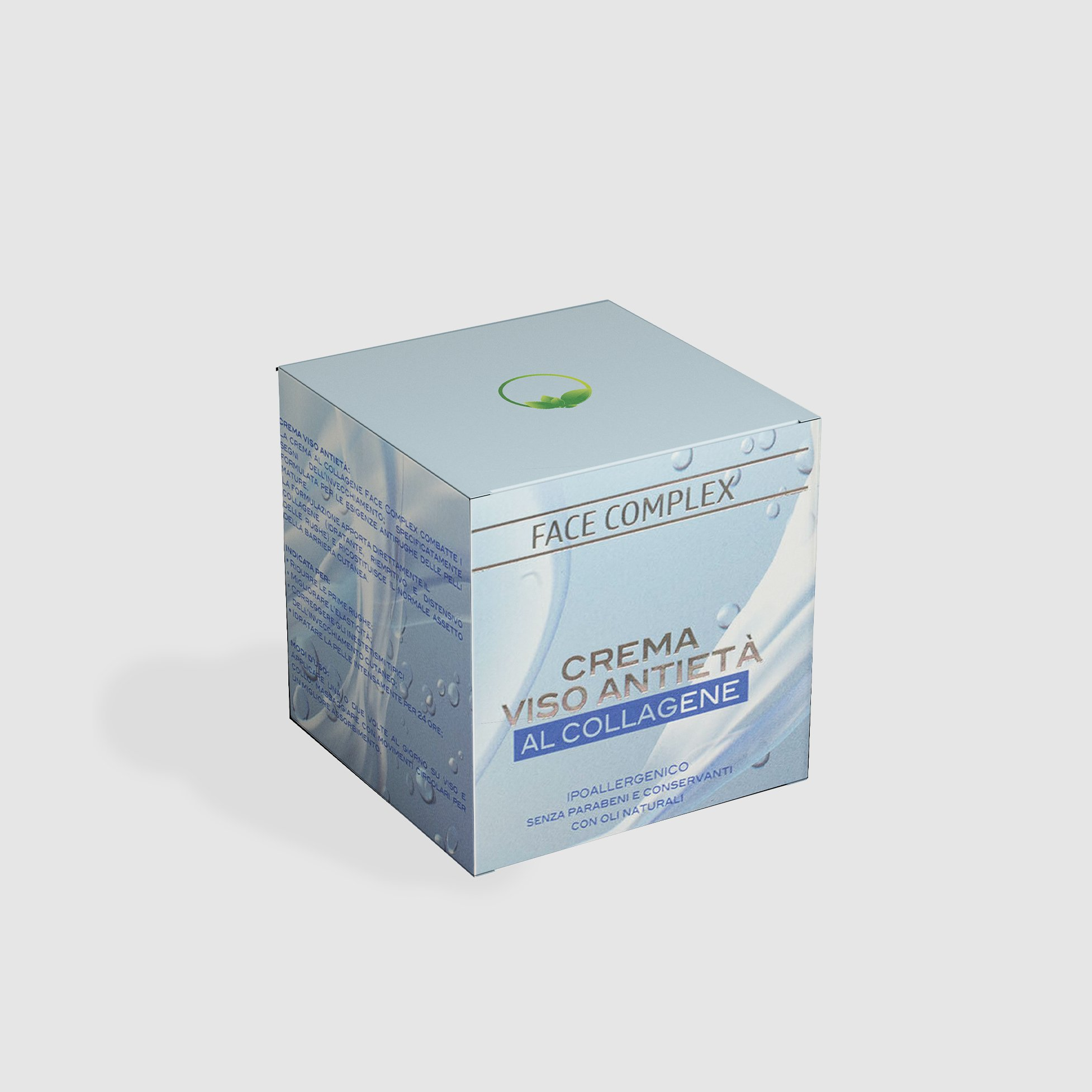 Face Complex Crema Viso Anti-Età Al Collagene - 50 ml