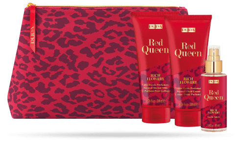 Pupa Cofanetto Red Queen - 04 Rich Flowery