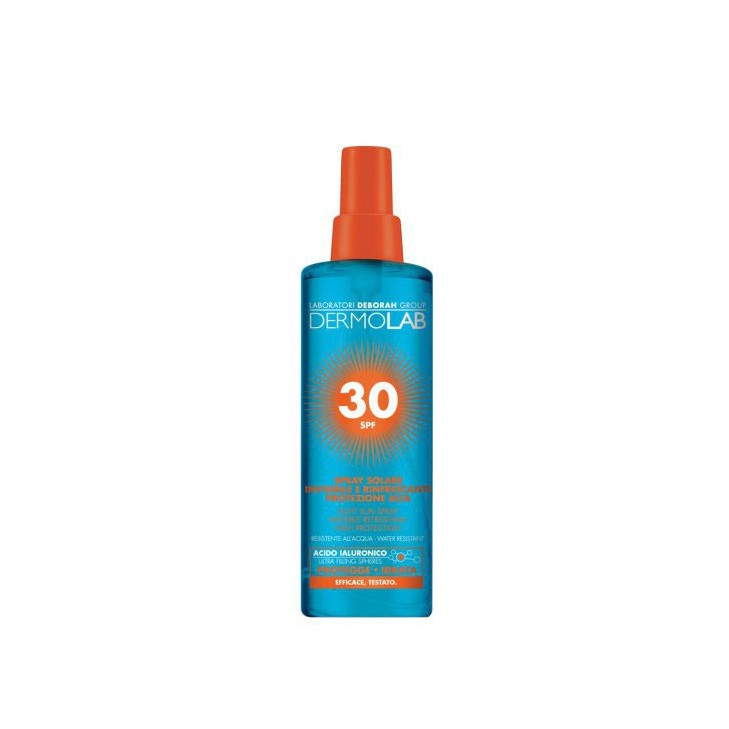 Image of Dermolab Spray Solare Invisibile e Rinfrescante 30 Spf - 200 ml