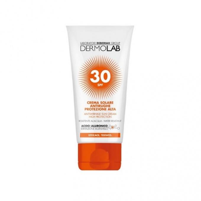 Dermolab Crema Solare Antirughe Viso e Collo SPF 30 - 50 ml