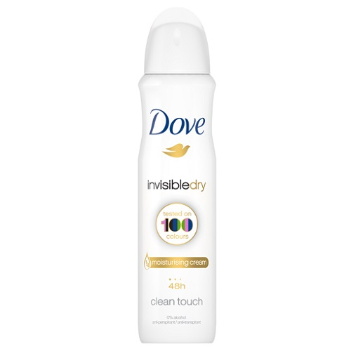 Image of Dove Invisibledry Clean Touch Moisturising cream 48h - 150 ml