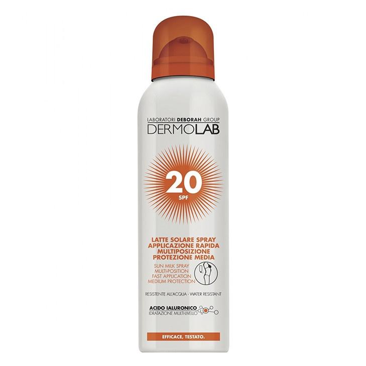 Image of Dermolab Latte Solare Spray Spf20 - 150 ml