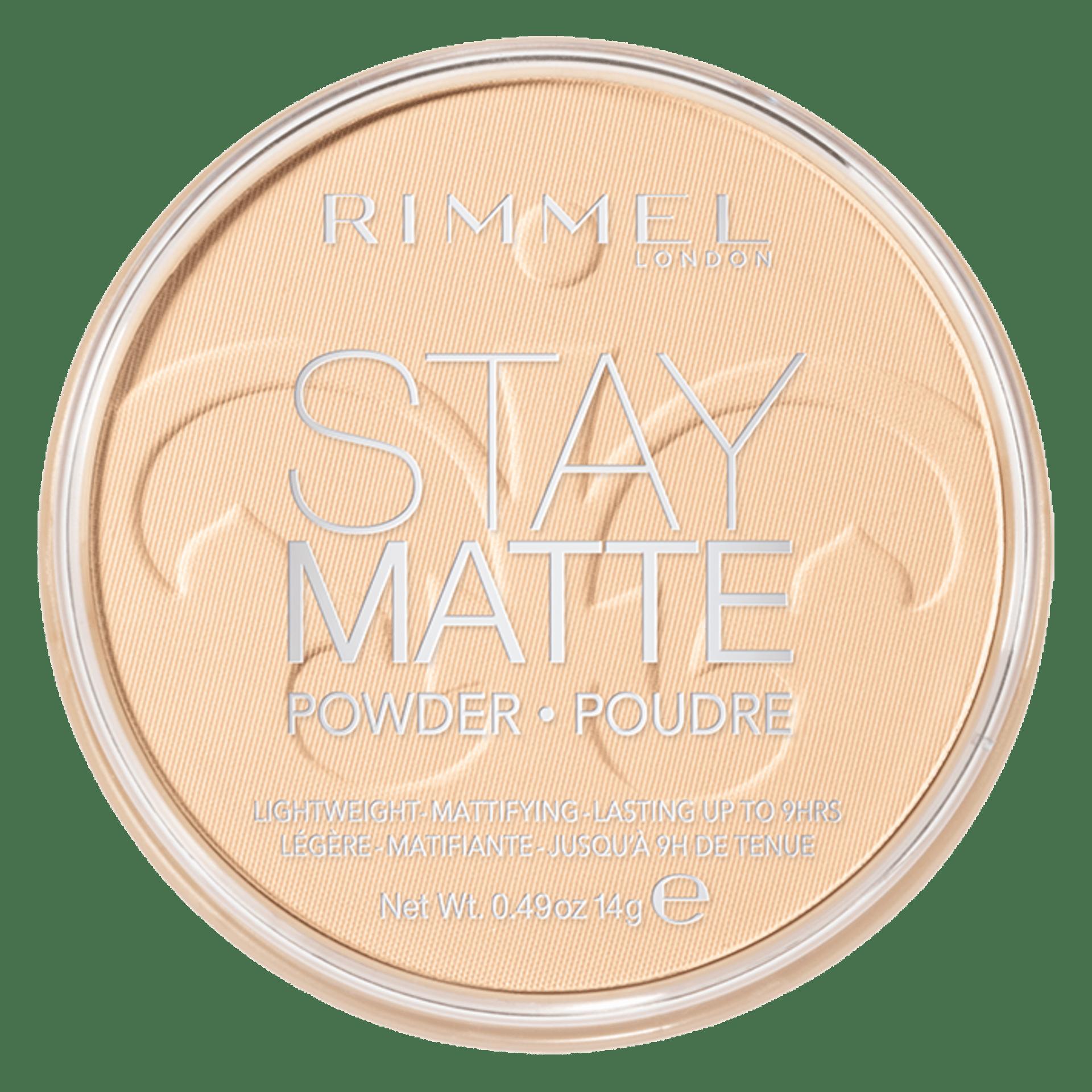 Image of Rimmel Stay Matte Cipria Compatta - 001 Trasparent