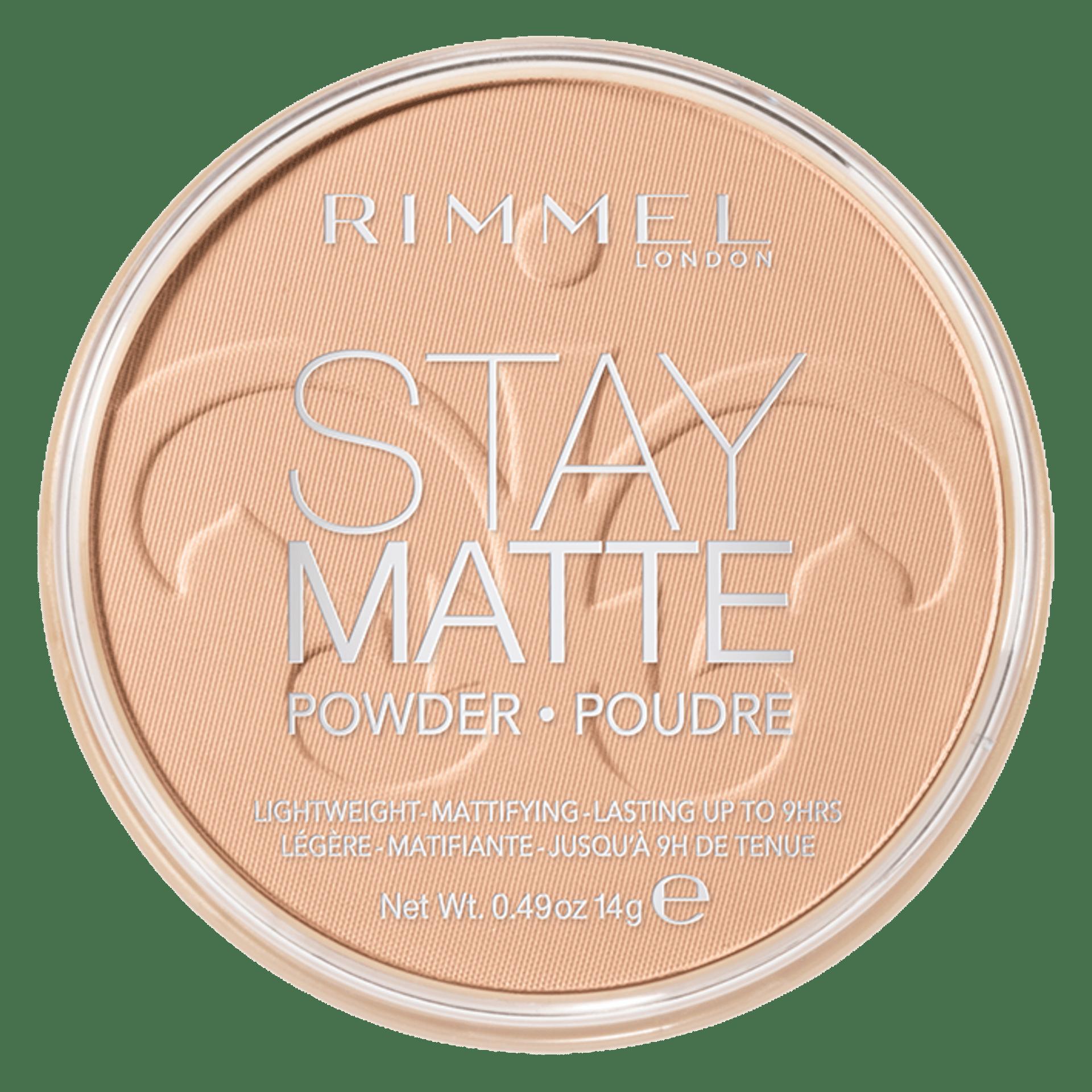Image of Rimmel Stay Matte Cipria Compatta - 005 Silky Beige