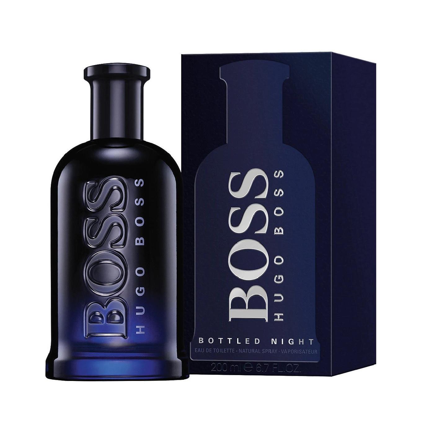 Image of BOSS Hugo Boss Bottled Night - Eau de Toilette - 200 ml