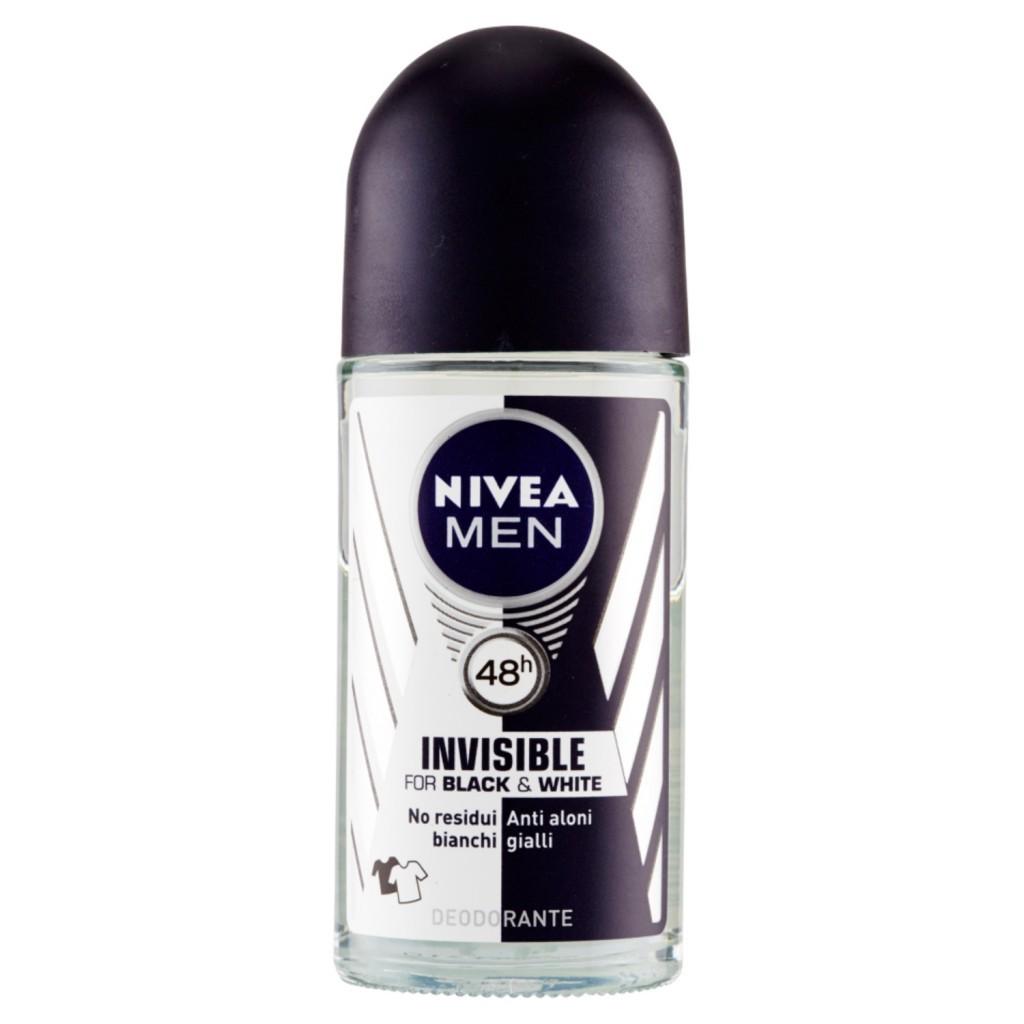 Image of Nivea Men Black & White Invisible Original 48h - 50 ml