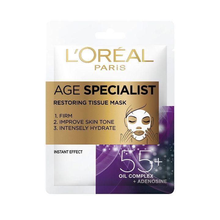 Image of L'Oreal Age Specialist Maschera in Tessuto 55+