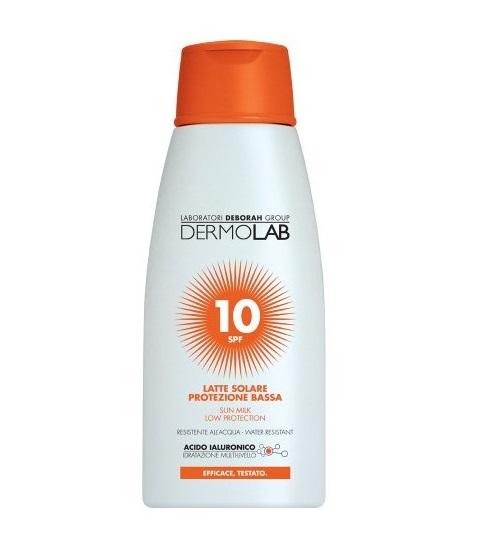 Image of Dermolab Latte Solare Protezione Bassa Spf 10 - 200 ml