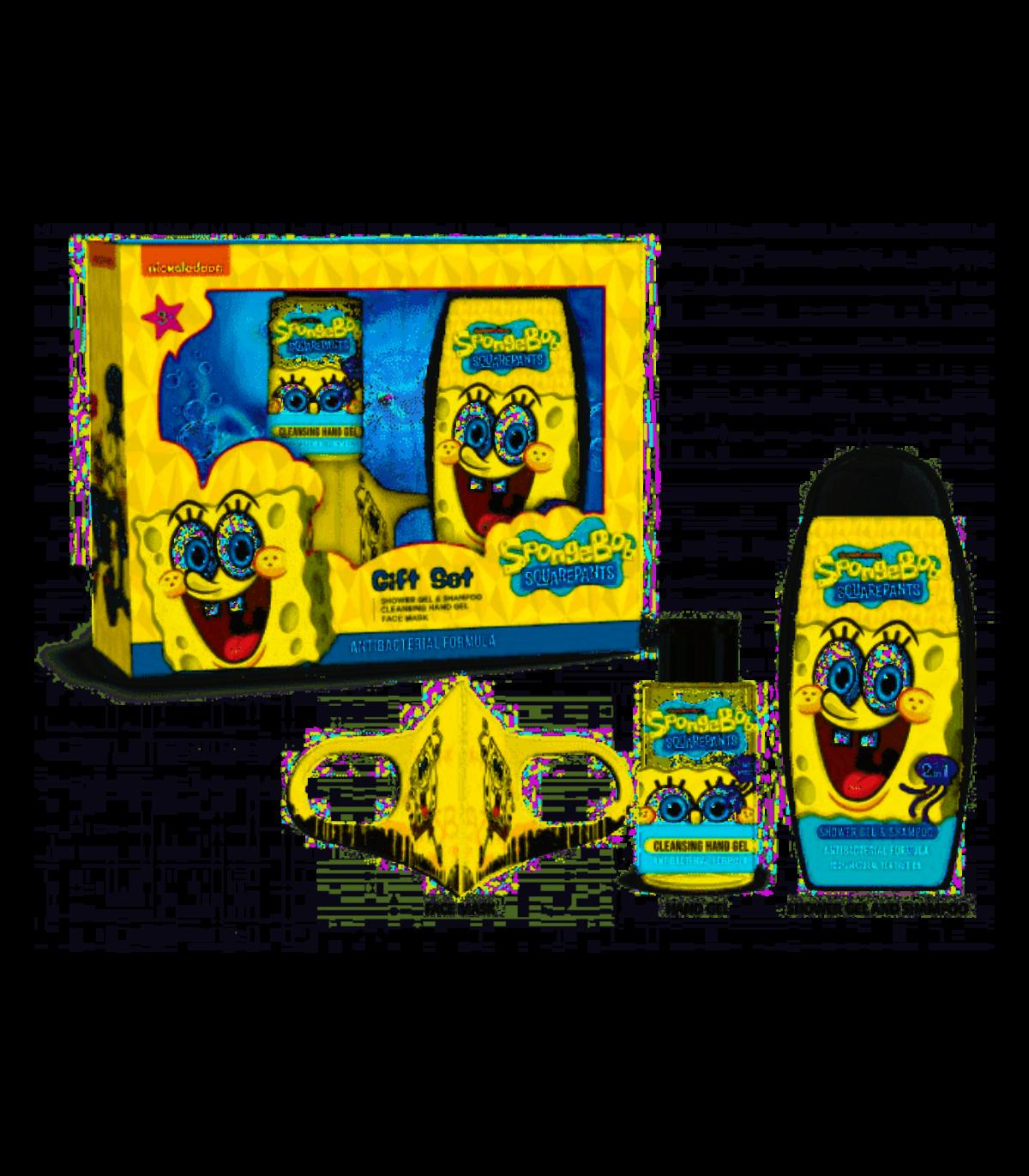 Image of Nickelodeon Gift Set Spongebob Squarepants Antibacterial Formula
