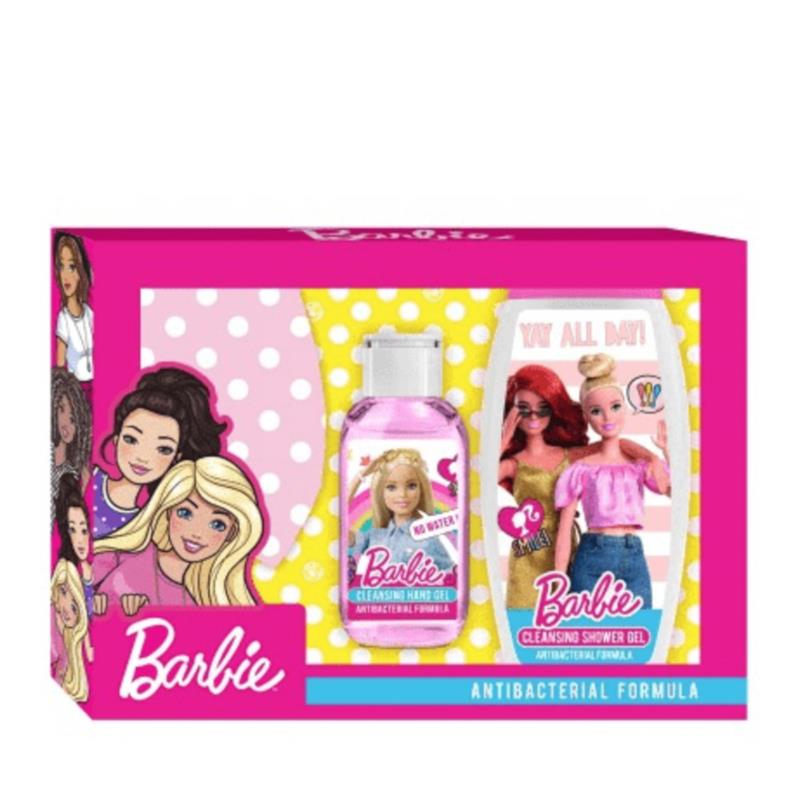 Image of Barbie Gift Set Antibacterial Formula