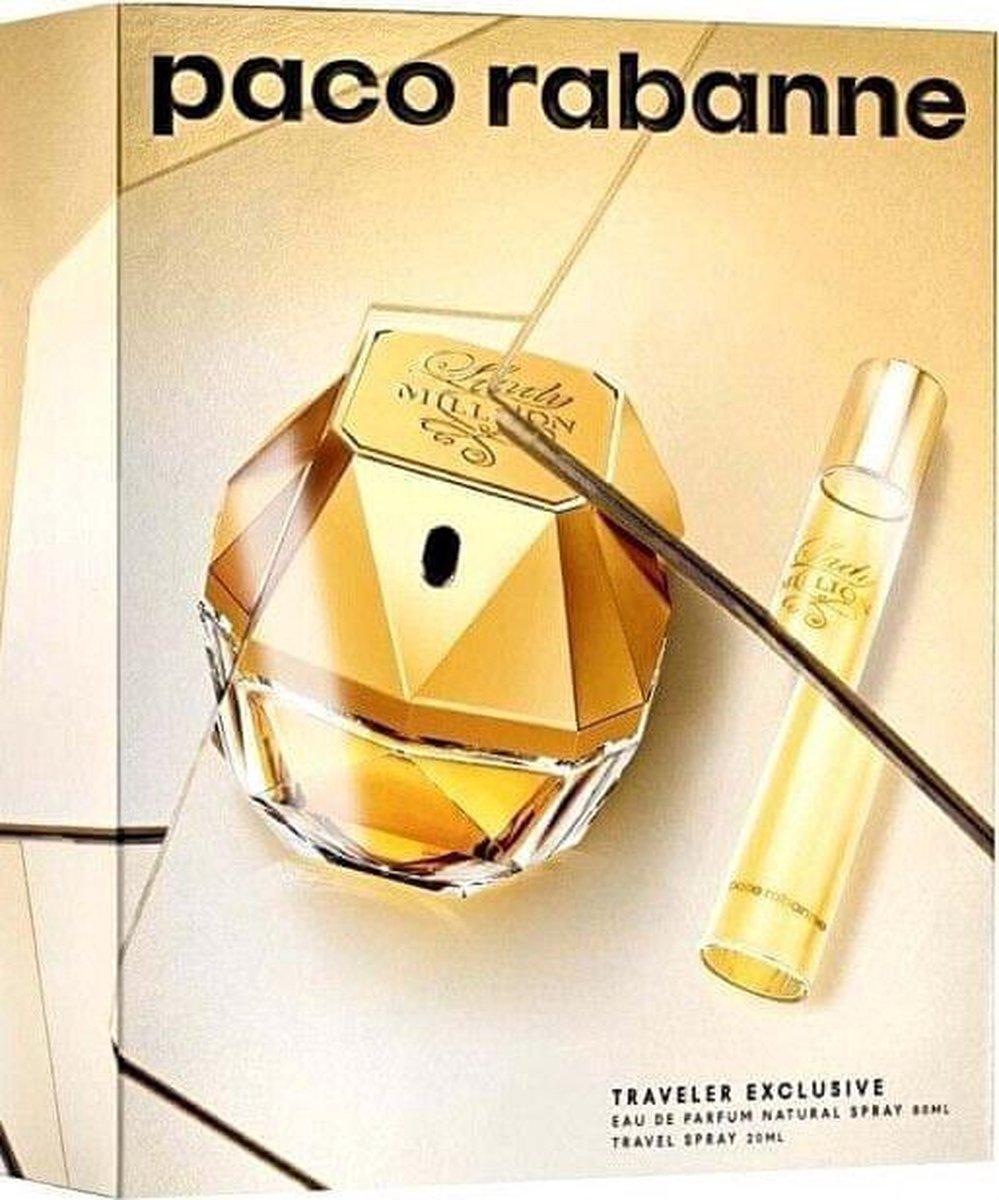 Image of Cofanetto Paco Rabanne Lady Million Traveler Exclusive - Eau de Parfum