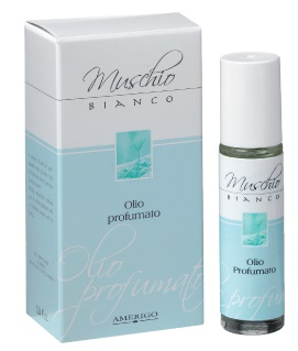 Image of Amerigo Muschio Bianco Olio Profumato - 10 ml