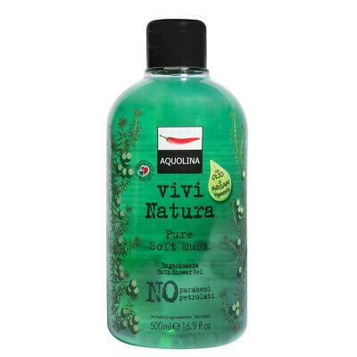 Image of Aquolina Vivi Natura Pure Soft Musk Bagnodoccia - 500 ml