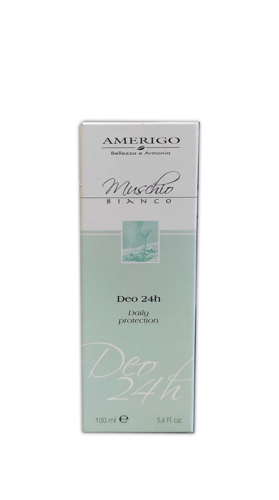 Image of Amerigo Muschio Bianco Deo 24h - 100 ml